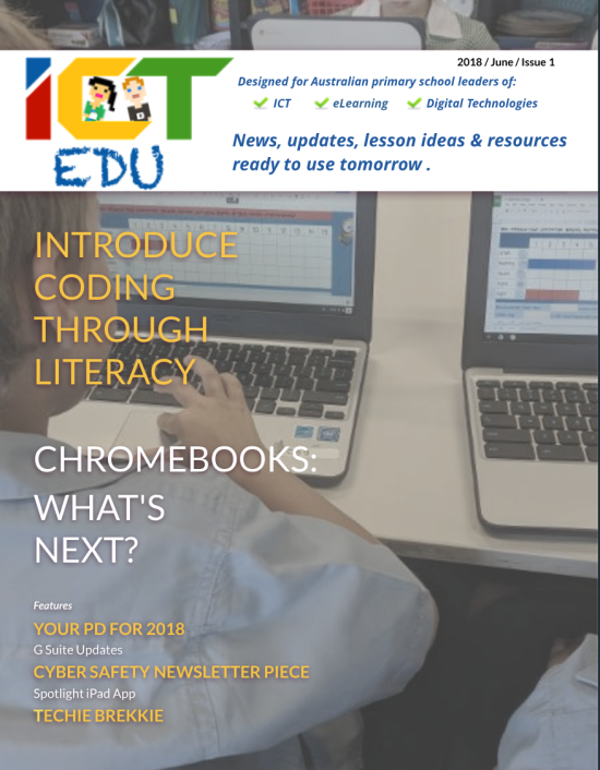 ICT Edu Mag Issue #1 - TSERLINCOM